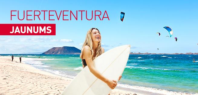 JAUNUMS Fuerteventura